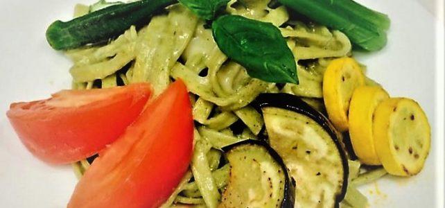 野菜がおいしいミートソースパスタ