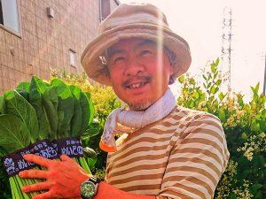 「にこにこ農園」芦川代表